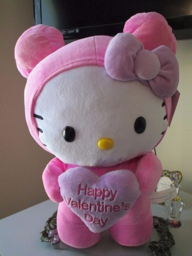 Happy Valentine's Day Hello Kitty
