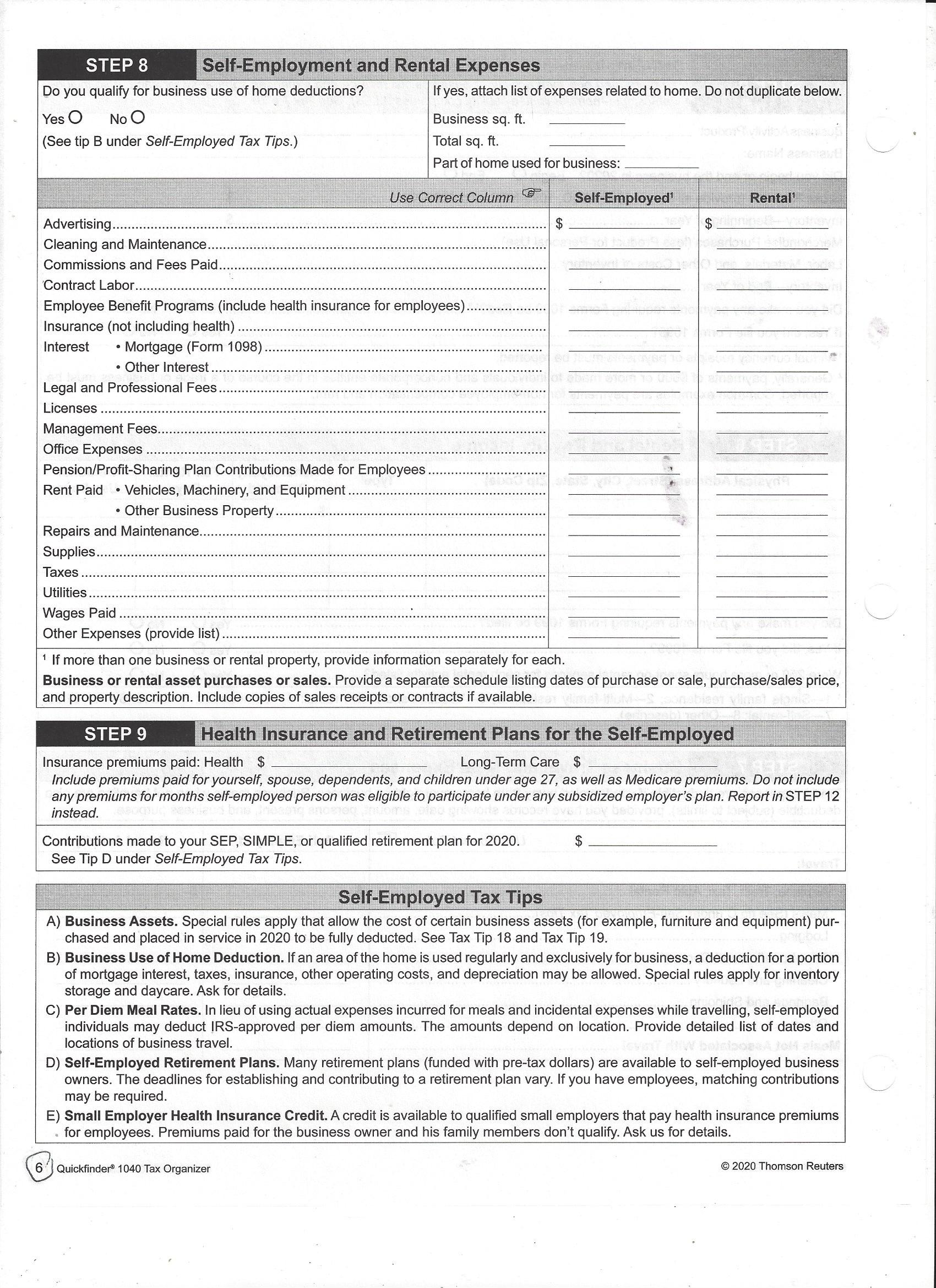 2020_Quickfinder_OrganizerAndDeductions_Page_6